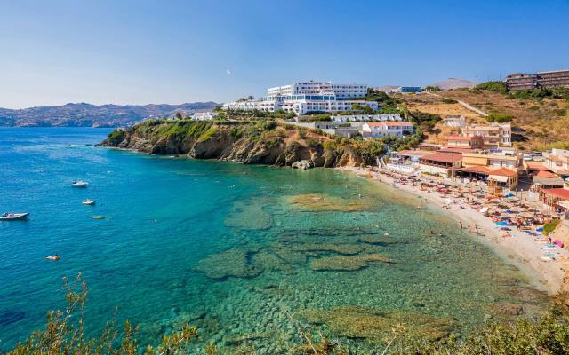 Παραλία στο Ηράκλειο Κρήτης