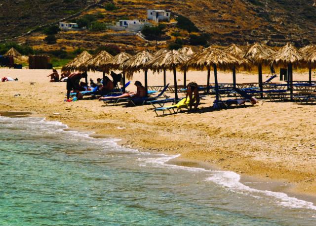 Αγία Θεοδότη παραλία Ίος