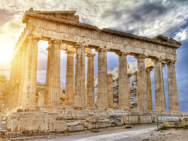 Ακρόπολη, Αθήνα - μνημεία