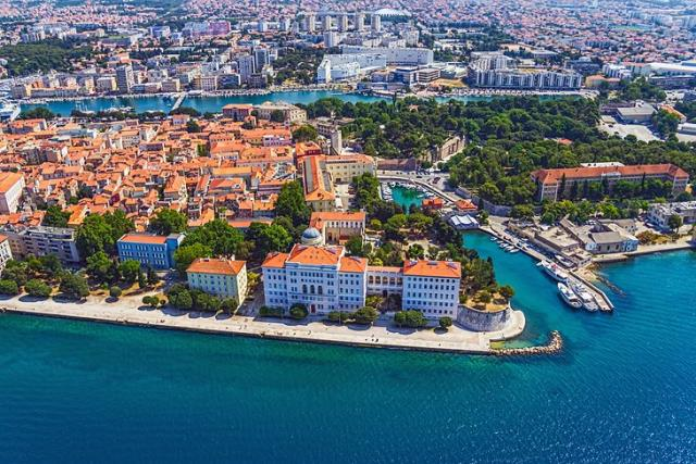 Ζαντάρ, Κροατία