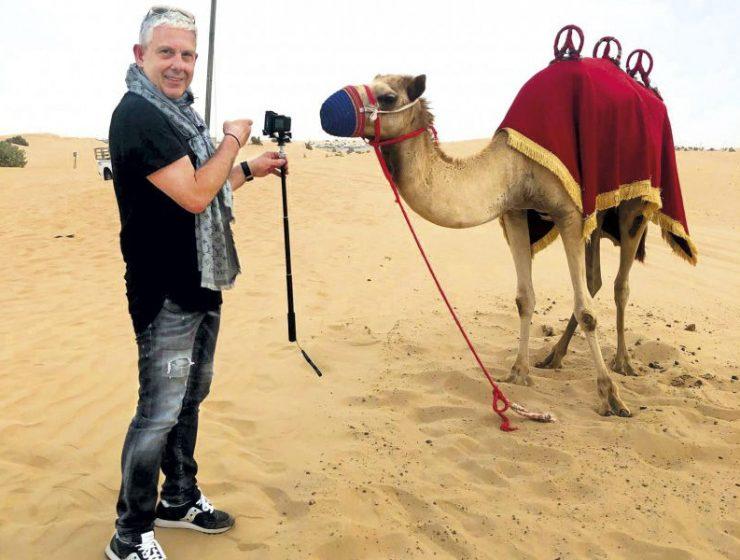 Εικόνες: Ένα συναρπαστικό ταξίδι στο Ντουμπάι με τον Τάσο Δούση!