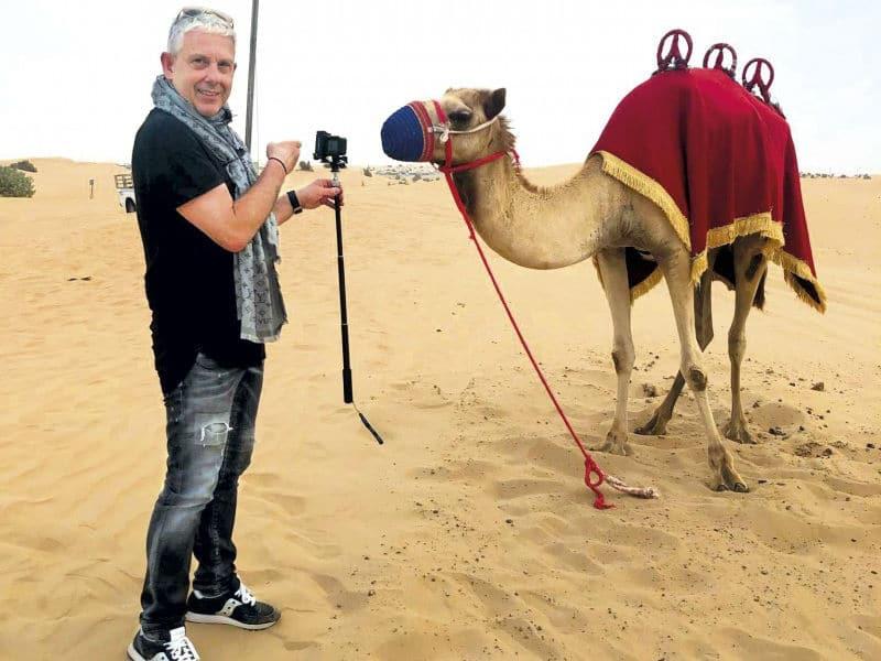 Εικόνες: Ένα συναρπαστικό ταξίδι στο Ντουμπάι με τον Τάσο Δούση! Μην χάσετε το 1ο μέρος!