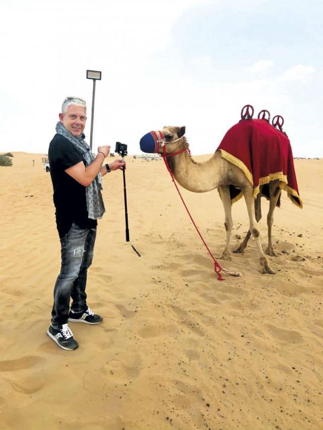 Ο Τάσος Δούσης στο Ντουμπάι!