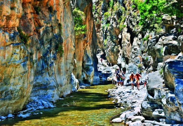 Φαράγγι της Σαµαριάς, Κρήτη