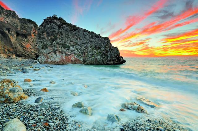 Παραλία Φονέας Μεσσηνία