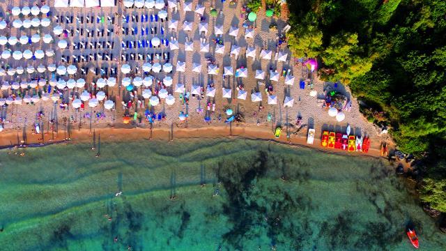 Παραλία Καλογριά, Μεσσηνία