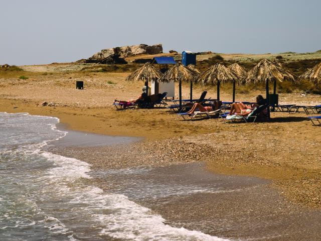 Κουμπάρα παραλία Ίος