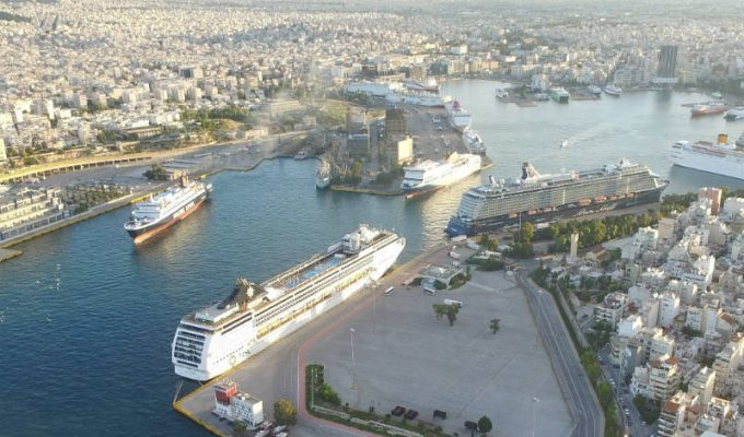 Λιμάνι Πειραιά κρουαζιέρα