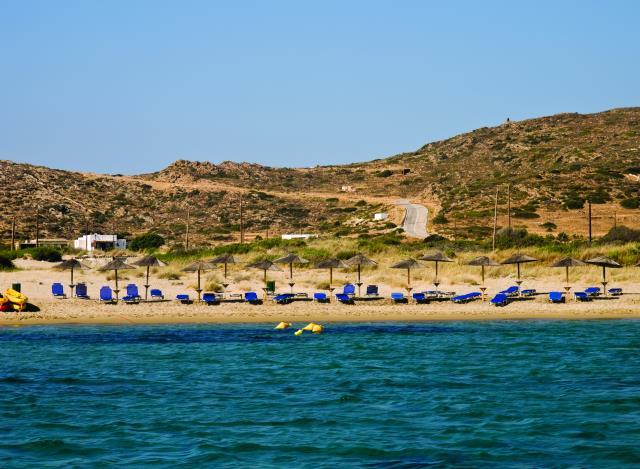 Μαγγανάρι παραλία Ίος
