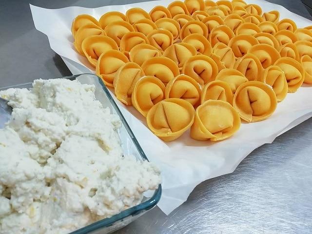 Χειροποίητα ζυμαρικά στο Le Mani in Pasta