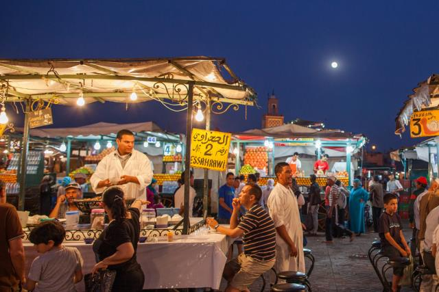 Αγορές στο Μαρακές