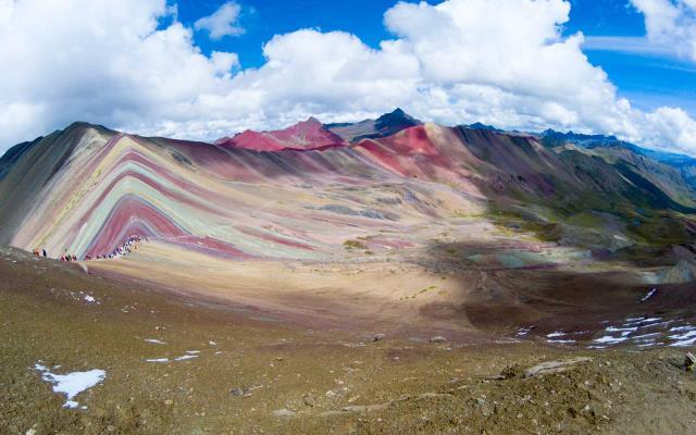 Το Βουνό των Επτά Χρωμάτων, Περού