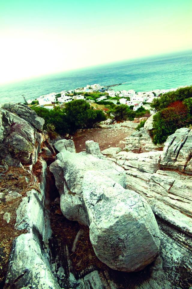 Ο Κούρος του Απόλλωνα, Νάξος