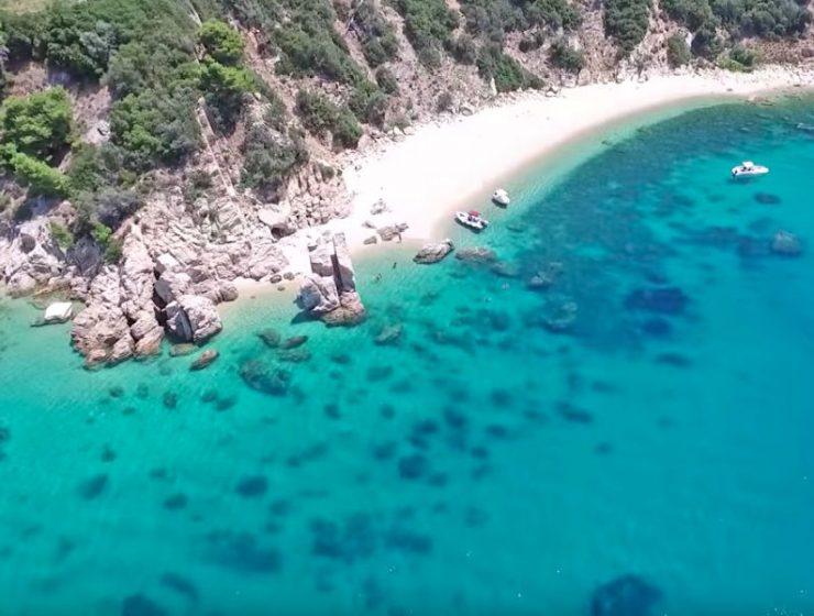 Παραλία Τρίμη, Χαλκιδική