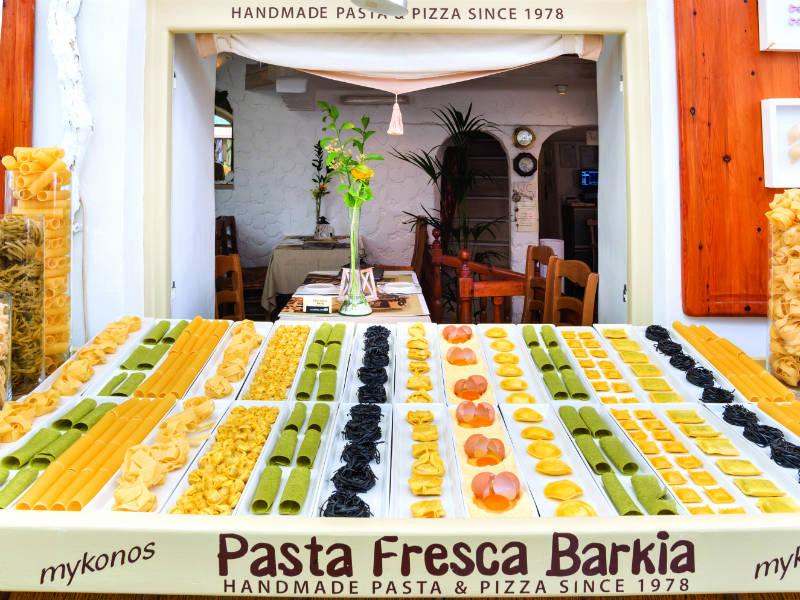 Pasta Fresca Barkia, Μύκονος