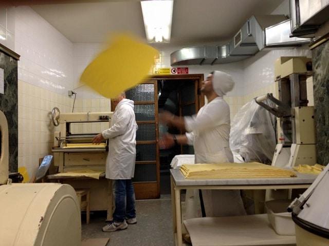 Στην κουζίνα του Pastificio Guerra