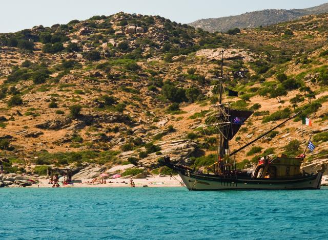 Πικρί Νερό παραλία Ίος