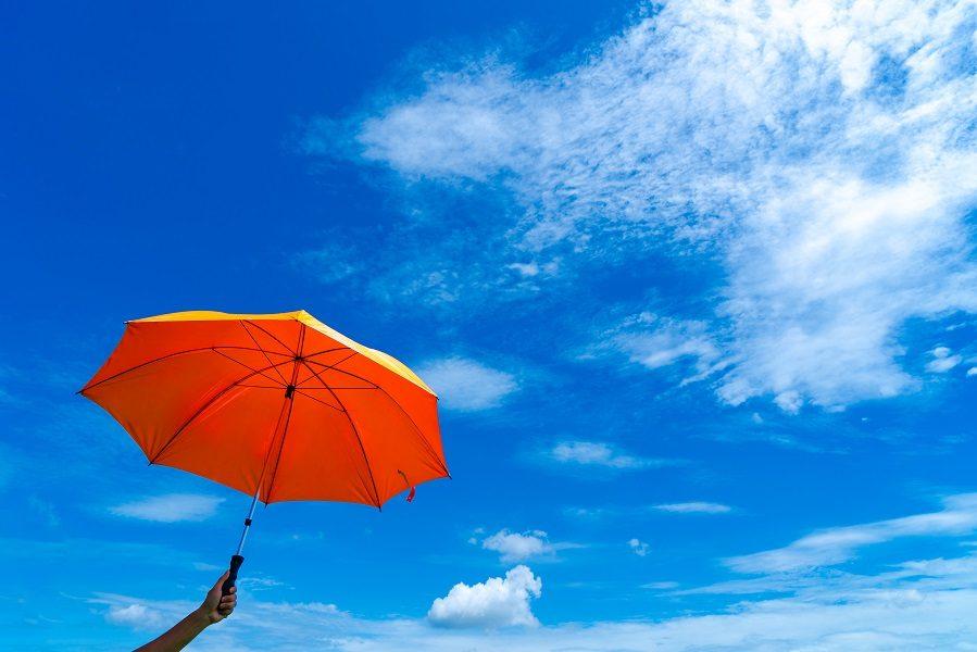 Ήλιος και βροχές - ομπρέλα