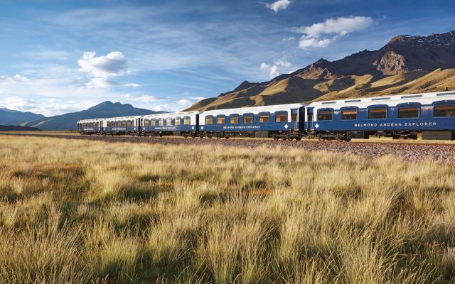 Belmond Andean Explorer, τραίνοΠερού