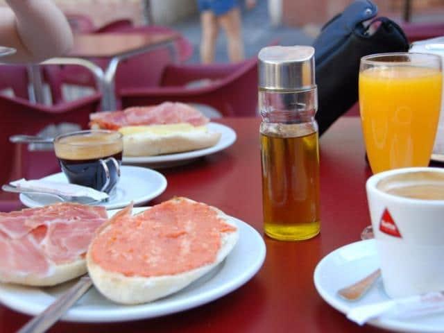 Ισπανία πρωινό