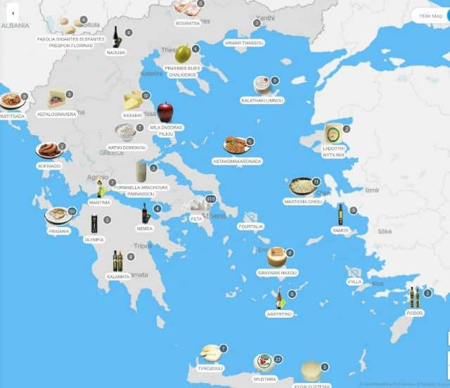 tasteatlas Ελλάδα