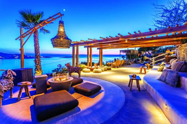 The Garden, Μύκονος - sunset bar