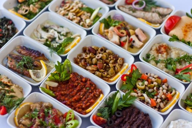 Μεζέδες - Κωνσταντινούπολη φαγητό