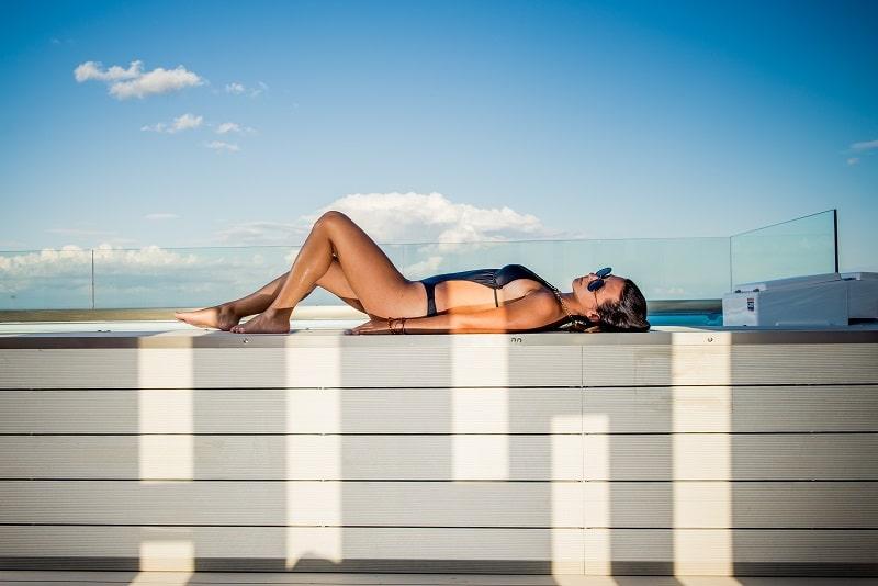 Rosto rooftop pool bar Ζάκυνθος