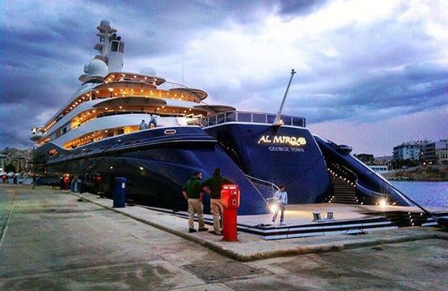 Al Mirqab θαλαμηγός