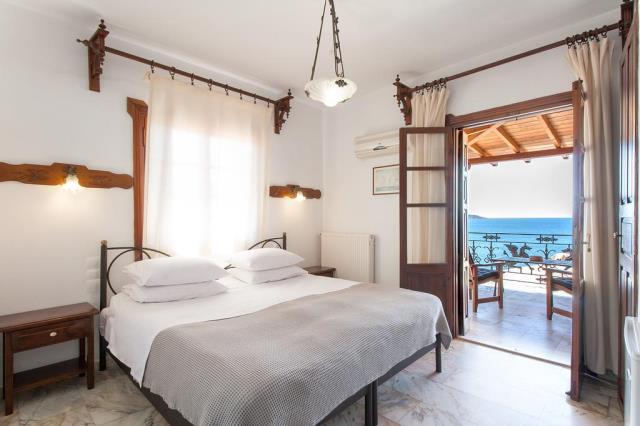 Chrysoulas Guest House δωμάτιο με θέα