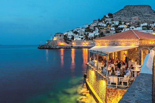 εστιατόριο Omilos στην Ύδρα