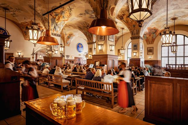 Hofbräuhaus, μπύρα Μόναχο