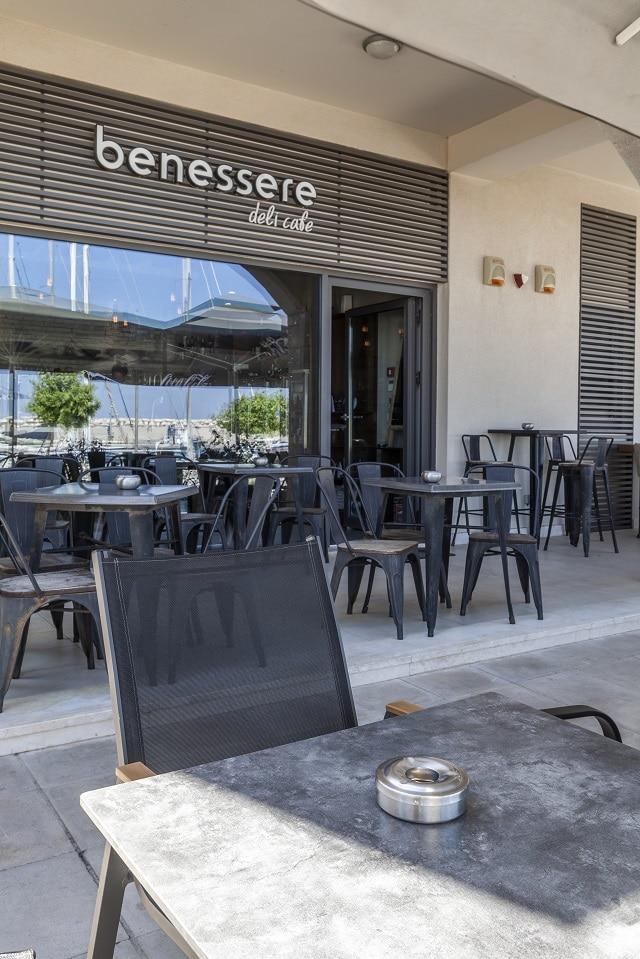all day deli cafe Benessere στη Ρόδο