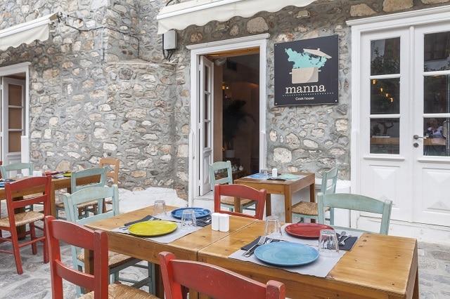Εστιατόριο Manna στην Ύδρα