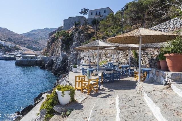 Εστιατόριο Spilia στην Ύδρα