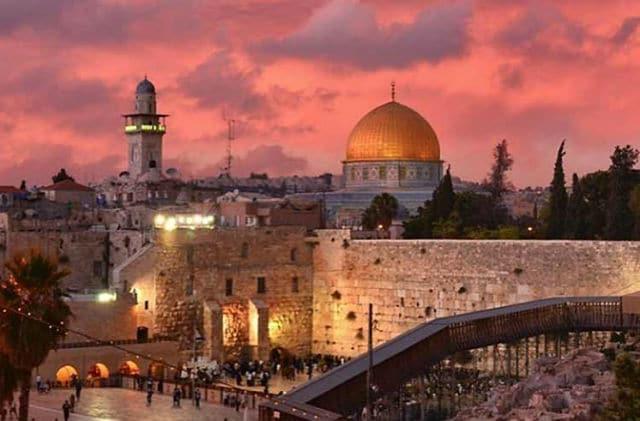 Ιερουσαλήμ ηλιοβασίλεμα