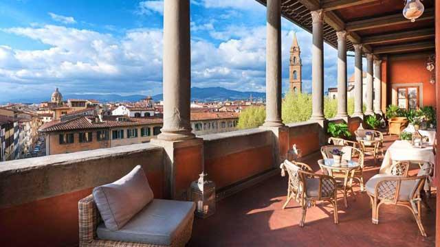 Loggia Roof Bar - Hotel Palazzo Guadagni, Φλωρεντία