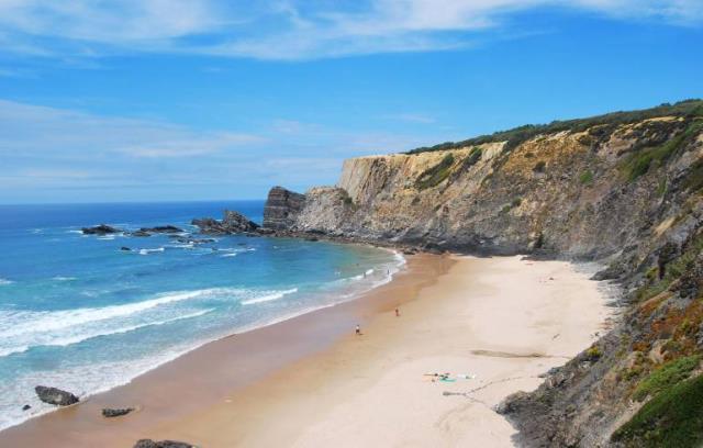 Praia da Amalia - παραλία στην Πορτογαλία