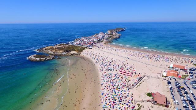 Praia do Baleal - παραλία στην Πορτογαλία