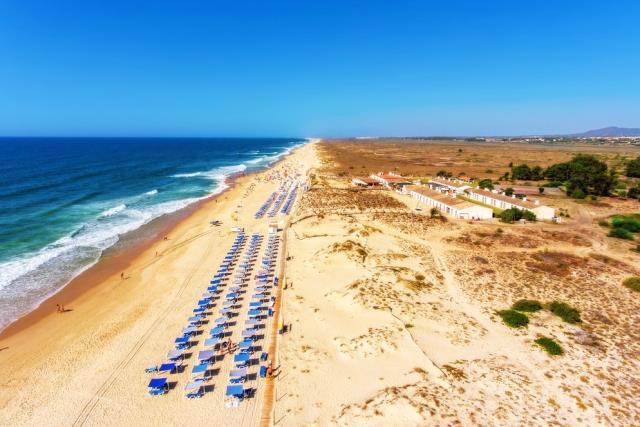 Praia do Barril - παραλία στην Πορτογαλία
