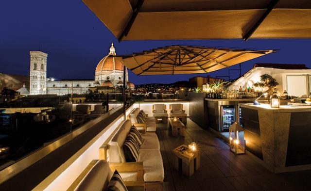 Divina Terrazza - Grand Hotel Cavour, Φλωρεντία