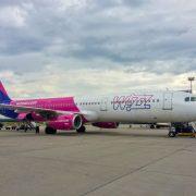 WizzAir αεροσκάφος