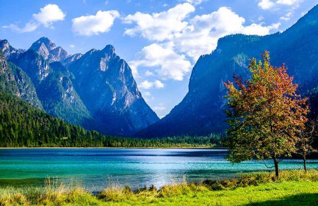 Δολομιτικές Άλπεις - λίμνη dobbiaco