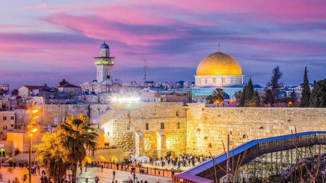 Ιερουσαλήμ πόλη με γοητεία υπέροχες φωτογραφίες