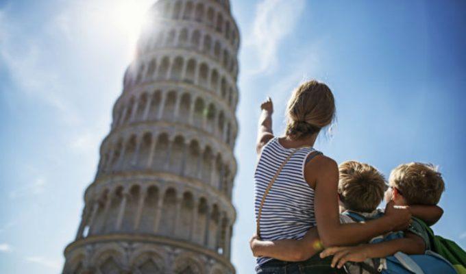 Οικογενειακές διακοπές στην Ιταλία