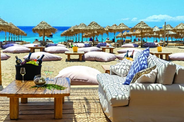 Liasti beach bar-restaurant, Μύκονος