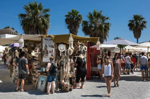 Αγορές στην Ίμπιζα