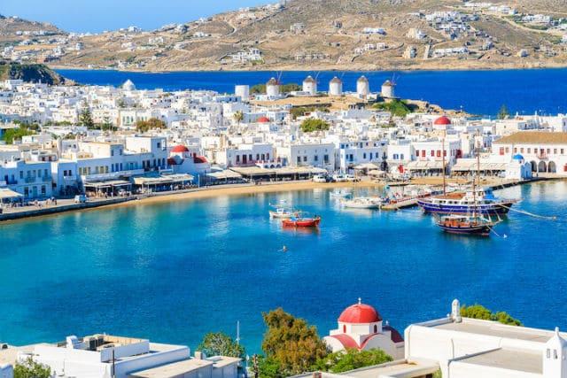 Μύκονος - ελληνικά νησιά - party animals