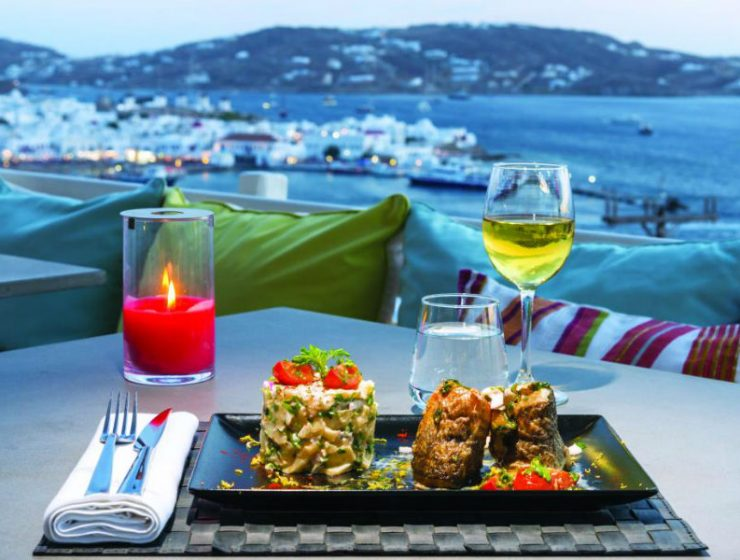 Oniro restaurant bar Μύκονος
