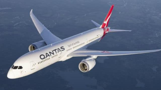 Qantas αεροπλάνο